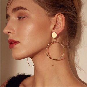 Jewelry - 🆕 • Brooklyn • Hollow Drop Hoop